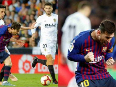 Messi trends after stunning comeback for Barcelona against Valencia