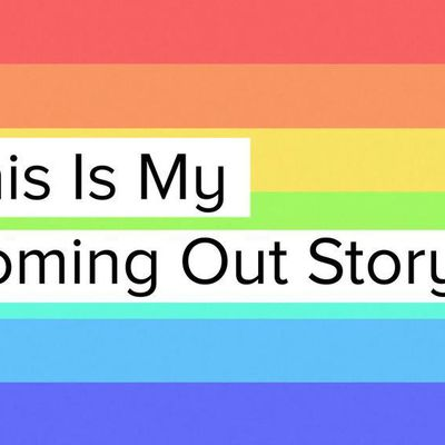 The Coming Out Story - I never thought I'd write