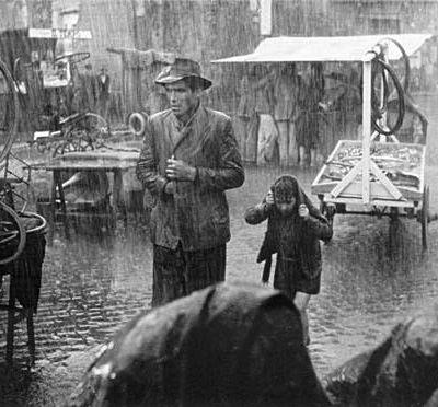 Wann verlor der Film das Interesse am Kleinen Mann? 70 JAHRE FAHRRADDIEBE