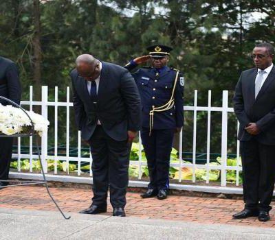 #RDC : FÉLIX TSHISEKEDI AU MÉMORIAL DU GÉNOCIDE RWANDAIS, EST-CE UNE BOURDE DE SA PART ?