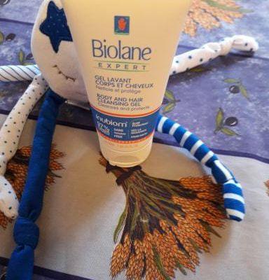 biolane gel lavant corps et cheveux