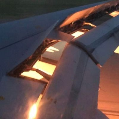 Saudi Team Plane Catches Fire, Lands Safely