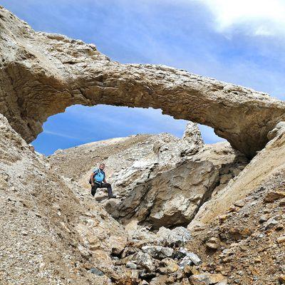 Terres Blanches - l'arche de sable