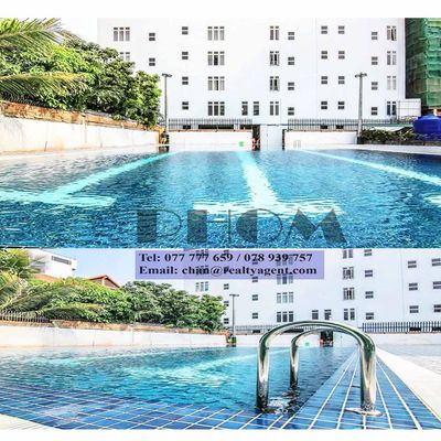 USD 850 / month ( TTP : Apartment 2 bedrooms/ 2 bathrooms  Gym & Swimming pool for rent )