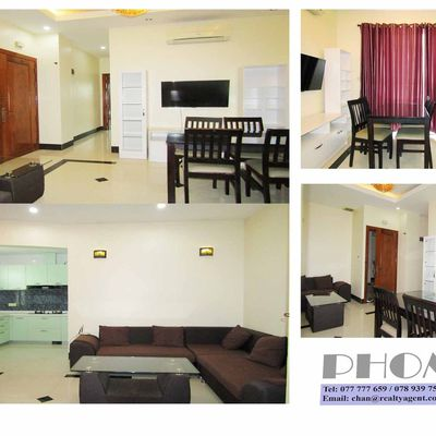 USD 500 / month ( TTP: Apartment 2 bedrooms / 1 bathroom Free Gym for rent )