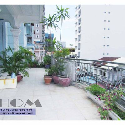 USD 250 / Month ( TTP: House/flat 1 bedroom / 2 bathrooms for rent with a big balcony )