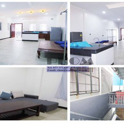 USD 300 / month ( TTP: House / Flat 1 bedroom - 1 bathroom for rent with a nice balcony  )