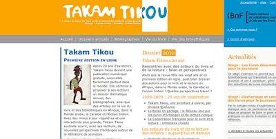 Takam Tikou, la revue en ligne du livre: Afrique, Caraïbes, Monde arabe et Océan Indien