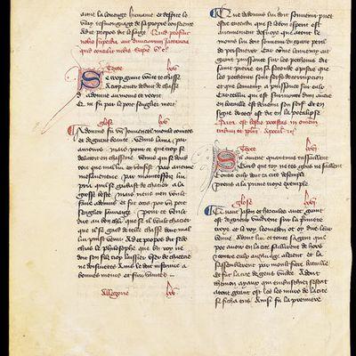 Brouillons d'écrivains : Création littéraire, manuscrits, génétique des textes…:Dossier dela Bnf