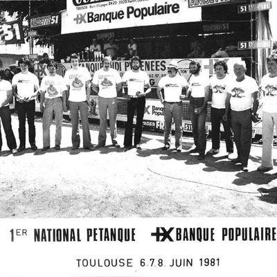 Photo pétanque souvenir.