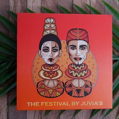 The Festival's palette de Juvia's Place Revue + Swatch