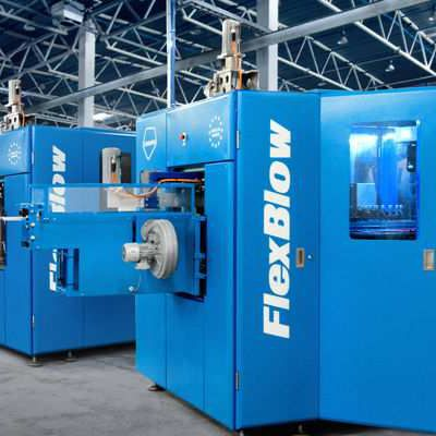 TEREKAS with FlexBlow at K 2016: Reduced size increased the attention