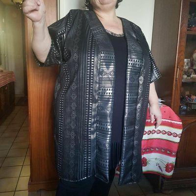 Notre Dona Yveline vous salue avec son kimono Dona Dara