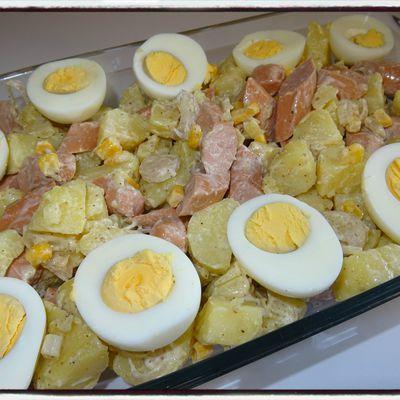 Salade de pommes de terre aux knackis
