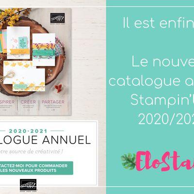 Il est enfin là : le nouveau catalogue annuel Stampin'Up! 2020/20021