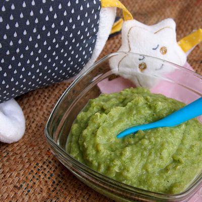 Purée de chou fleur, brocolis et quinoa