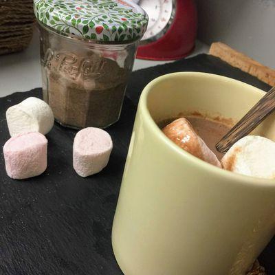 Préparation pour chocolat chaud bien onctueux