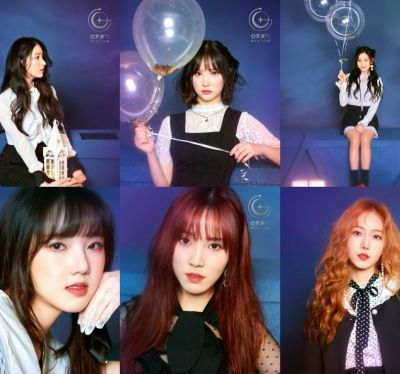 GFRIEND dévoile la tracklist de 'Time For The Moon Night'