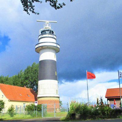 Leuchtturm Bülk am äußersten Ende der Kieler Förde