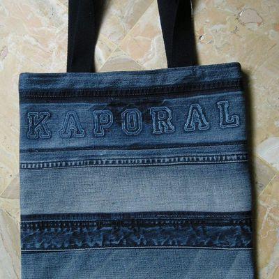 Sac en jeans Kaporal