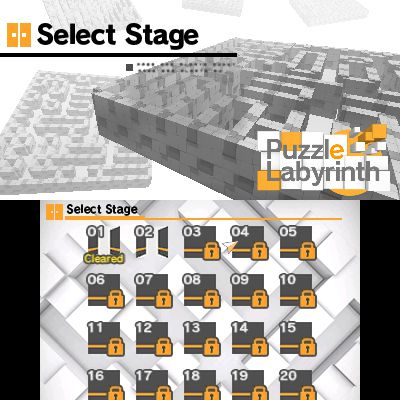 Puzzle Labyrinth [3DS]
