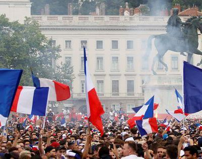 La France remporte la Coupe du monde de football
