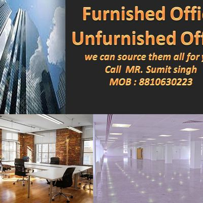 Furnished || Unfurnished Office Space For Rent In Gurgaon - 8810630223