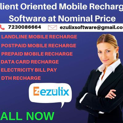 Get Client- Oriented Mobile Recharge Software at Nominal Price