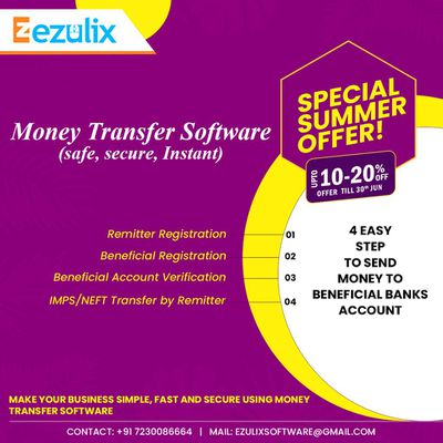 Get Best Money Transfer Software for Remittance Service and Save 20% Today