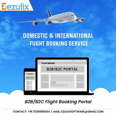 Start Flight Ticket Booking Business with Best Travel Portal & Save 20%