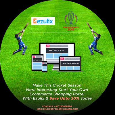 Cricket Season- Get up to 20% Off on Online eCommerce Portal