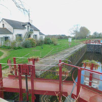 Canal de Nantes à Brest - Etape 2 - Sucé-sur-Erdre/Le-Bout-de-Bois (en Héric) - 60 km - AR