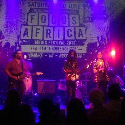 Boubacar Kafando et son groupe Zaama Nooma au festival Focus Africa 2018