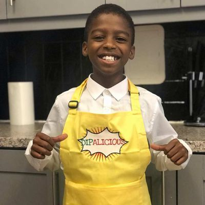 Meet Omari McQueen, 10 year old CEO of Dipalicious