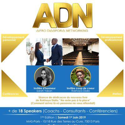 ADN 2019 - AFRO DIASPORA NETWORKING - PARIS