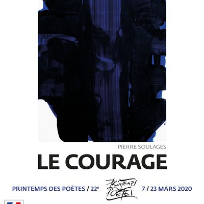 Le courage...