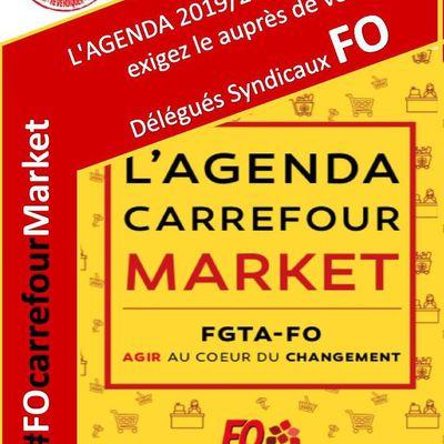 AGENDA 2019/2020 FO carrefour market
