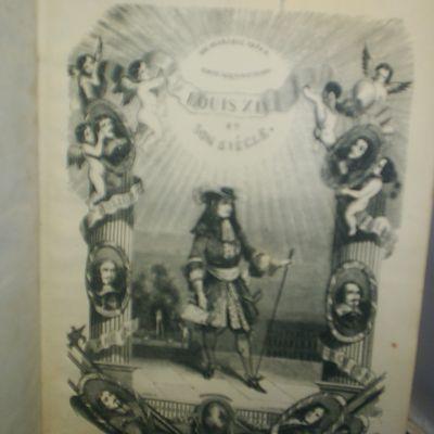 LOUIS XIV ET SON SIÈCLE (2 TOMES - COMPLET) - Auteur: DUMAS, Alexandre - Année d'édition: 1851