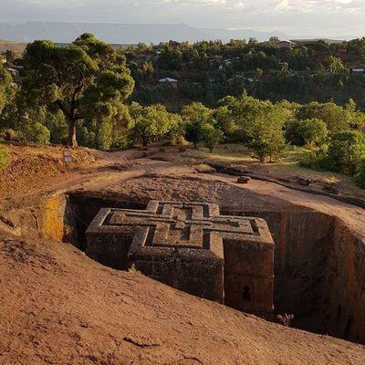 Les Eglises de Lalibela, creusées dans la roche !