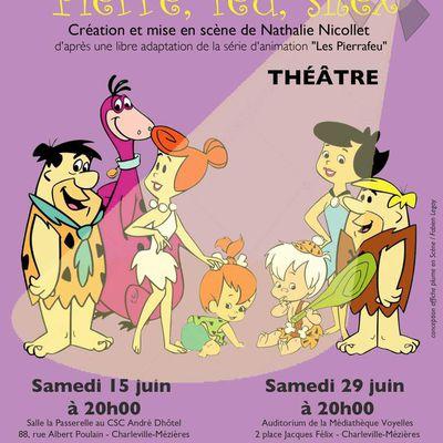 """Spectacle Juin 2019 - """"Pierre, feu, silex"""" La Passerelle - André Dhôtel / Auditorium - Médiathèque Voyelles"""
