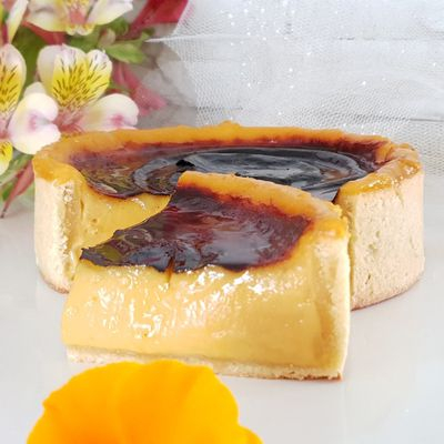 Flan aux fruits de la passion