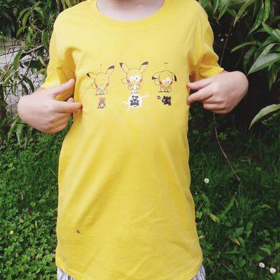 Kanitoba personnalise les tee shirts et les accessoires