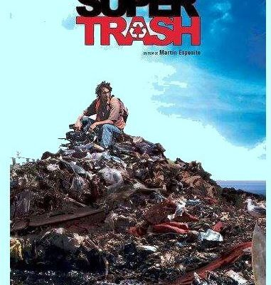 "Projection ""Super Trash"" de Martin ESPOSITO"