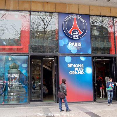 Les boutiques du Paris Saint-Germain ont réouvert en toute sécurité