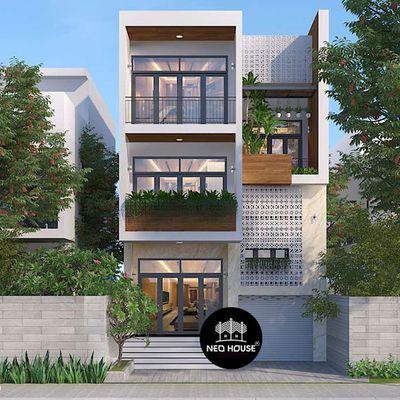 Thiết kế biệt thự đẹp hiện đại 3 tầng đẳng cấp tại Vũng Tàu