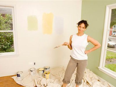 Paint a Room Easy and Problem-Free