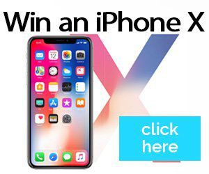 Sweepstake - iPhone X - Enter for a chance to win a iPhone X!