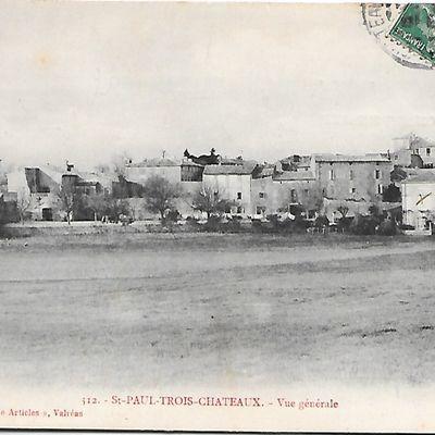 Vue générale de Saint-Paul-Trois-Châteaux (N°209)