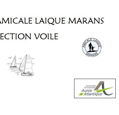 Amicale Laïque de Marans Section Voile