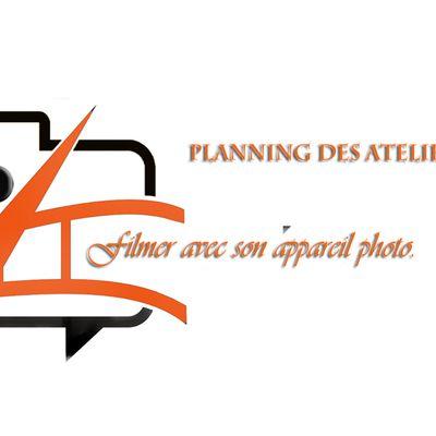 Planning des ateliers Vidéo, pour le 25 Mai - 2020